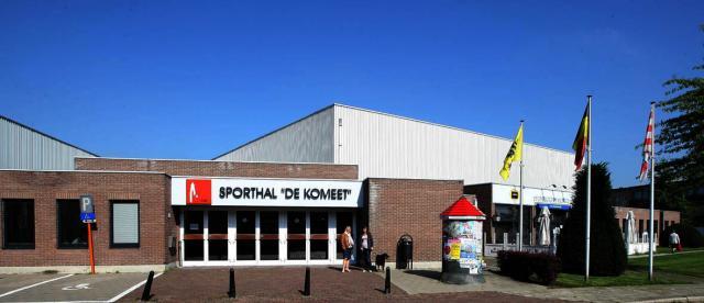 Nieuwe ledverlichting voor Sporthal \'De Komeet\' in Lier | Cartoon ...